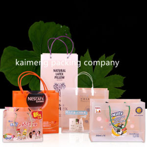 Shanghai Kaimeng Offer Plastic Pet Bags Folding Package Gift Design