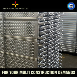 High Strength Galvanized Steel Plank with Hook pictures & photos