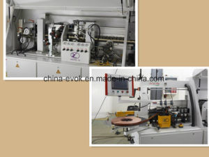 Furniture Wood Automatic Edge Banding Machine with Premilling and Grooving Fuction (TC-60C-YX-K) pictures & photos