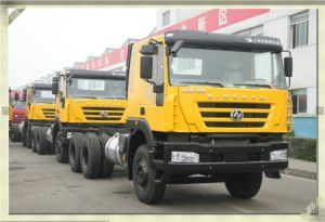China Manufacture 6X4 Heavy Duty Genloy Iveco Dump Truck Factory pictures & photos