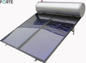 Flat Plate High Pressure Blue Absorber Solar Water Heater pictures & photos