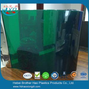 Eco Friendly Eyeshield Flexible Soft Green Vinyl Plastic Welding Screen  Curtain Door Strip