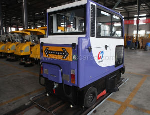 Battery Powered All Closed Automatic Road Sweeper pictures & photos