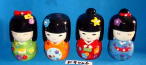Japanese Dolls with Ceramic Money Box pictures & photos