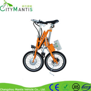Carbon Steel Bike E-Bicycle Folding Electric Bike