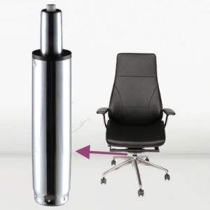 Chrome Gas Lift Spring Cylinder For Office Chair Sgs Tuv Bifma