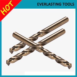 HSS Straight Shank Twist Drill Bits for Hard Metal Drilling