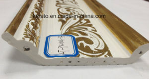 Hot Stamping Water-Proof Cheap PVC Panel Moulding Cornice pictures & photos
