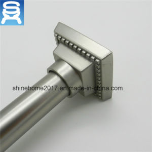Orb Shower Curtain Rod.China 42 72 Square Shape Satin Nikel Chrome And Orb Shower Curtain