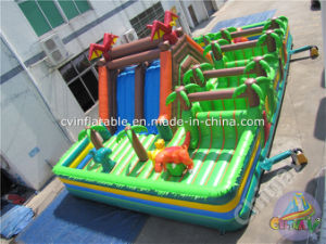 Jurassic Theme Inflatable Playground for Children