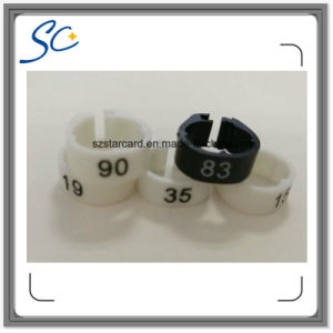 Poultry Use Plastic Bird Foot Ring with Number 1~100