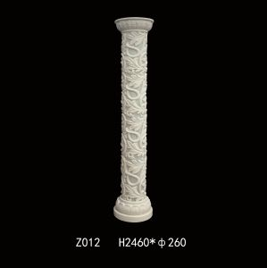 Euro Style Sandstone Resin Sculpture Pillars pictures & photos