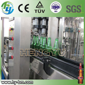 3 in 1 Glass Bottle Beer Filling Machine pictures & photos