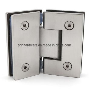 8-12mm Glass Glass to Glass 90D Stainless Shower Hinge Glass Clamp 304G