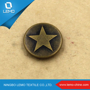 Wholesale Custom Logo Embossed Jeans Button for Jeans pictures & photos