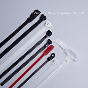 21 1/16′′ 120lbs White/UV Black Nylon Cable Ties