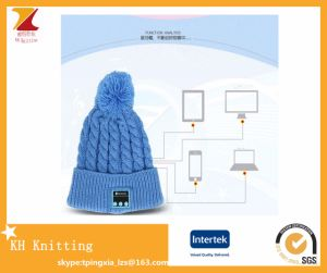 Manufacturers Fashion Cute Winter Warm Hats Bluetooth Knit Hat