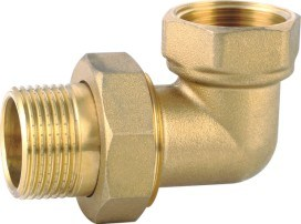 Brass Tube Elbow Threaded Fitting (YD-6048) pictures & photos