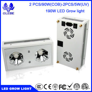 Grow Plant Uv 90w Spectrum Cob Plants Indoor Leds 2pcs Full Lights 190w Light Led For uFKcJ3Tl1