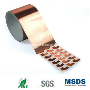 50mm*50m Copper Foil Adhesive Tape (Thickness can choose) pictures & photos