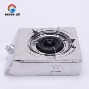 Deaktop Single Burner Gas Stove, Stainless Steel pictures & photos