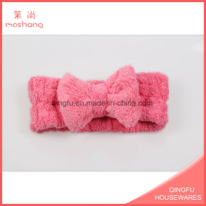 Factory Coral Fleece Woman Headband Cute Hair Accessories