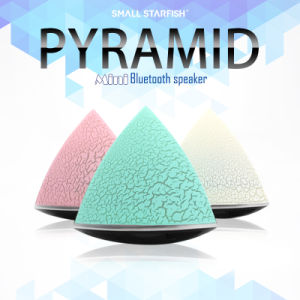 Crack Triangle Colorful Luminous Lamp Bluetooth Small Speaker