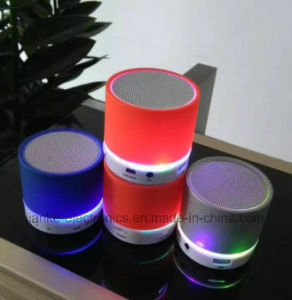 LED Light up Portable Bluetooth Speaker (572)