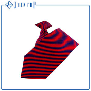 New Style Customize Polyester Woven Clip-on Tie Necktie pictures & photos