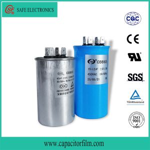 Cbb65 AC Motor Oil Filled Capacitor for Air Condition pictures & photos