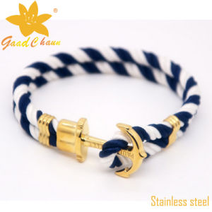 SMB-16112820 Classical Fashion Cotton Thread The Captain of The Bracelet