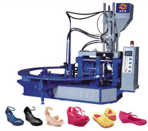 Vertical Jelly Shoes Injection Moulding Machine pictures & photos