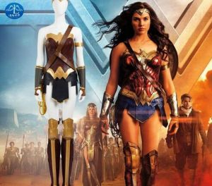 China Dawn Of Justice League Wonder Woman Costume Halloween Cosplay