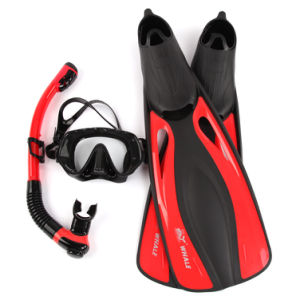 Fashionable Colorful Adult Dive Mask Snorkel and Carbon Fins Set pictures & photos