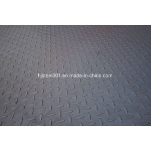 Rizhao Steel Carbon Steel Checkered Floor Plate