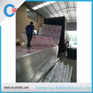 Transparent Clear Polycarbonate Sheet with High Light Transmission PC Sunsheet pictures & photos