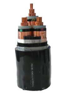 Cu/Al Conductor 0.6/1kv Three Core XLPE 3X35mm2 Power Cable pictures & photos