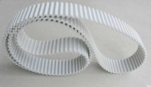 White Colour Htd8m PU Flex Belt pictures & photos