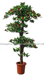 Artificial Plant/Bonsai/Artificial Tree with Waxbrry Fruit