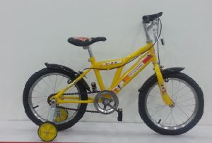 Yellow Children Bike