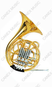 French Horn / 4-Key Double French Horn (FH-61L) pictures & photos