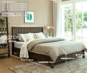 Fashionable Original Wood Bed/Bedroom Furniture Wooden Bed/Classic Wooden Bed Cx-Wb120 pictures & photos