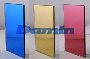 4-6mm Pink Double Painting Aluminum Mirror