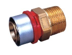 Male Straight (Press Fitting) (WTM-A2002)