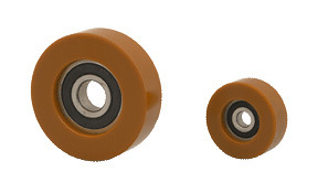 Special Industrial Plastic Polyurethane PU Coated Bearing