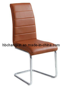 Luxurious and Comfortable Modern Brown Leather Dining Chair pictures & photos