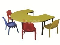 Kids Table and Chair, U-Shape Table & Chair, Pre-School Furniture pictures & photos