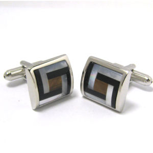 High Quality Fashion Metal Men′s Cufflinks (H56) pictures & photos