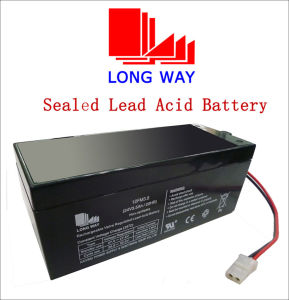 24V3.5ah Rechargeable Sealed Lead Acid UPS Battery pictures & photos