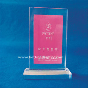 Custom Acrylic Crystal Trophy Blanks Design pictures & photos